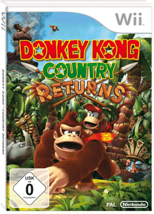Donkey Kong Country Returns, Covermotiv