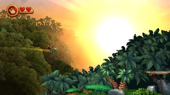 Donkey Kong Country Returns, Screenshot #2