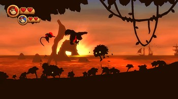 Donkey Kong Country Returns, Screenshot #4