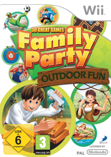 Family Party: Outdoor Fun, Covermotiv