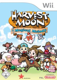 Harvest Moon: Magical Melody, Covermotiv