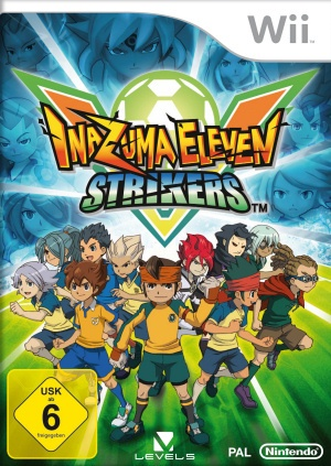 Inazuma Eleven Strikers, Covermotiv/Artwork