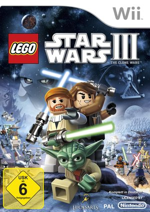 LEGO Star Wars III: The Clone Wars, Covermotiv/Artwork