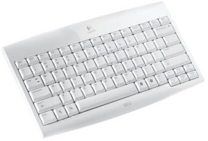 Logitech Cordless Keyboard for Wii, Covermotiv