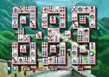 Mahjongg Party, Screenshot #1