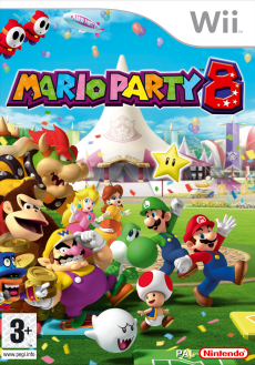 Mario Party 8, Covermotiv