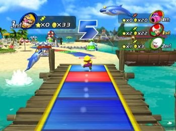 Mario Party 8, Screenshot #1