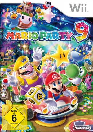 Mario Party 9, Covermotiv