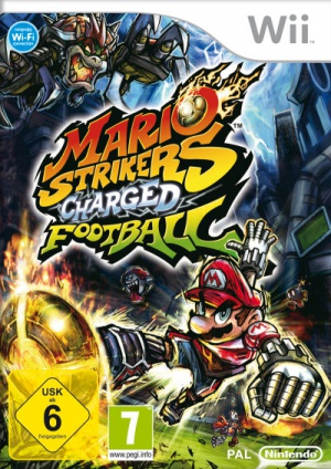 Mario Strikers Charged Football, Covermotiv/Artwork