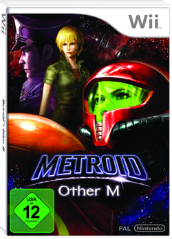 Metroid: Other M, Covermotiv