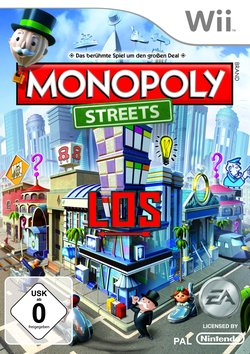 Monopoly Streets, Covermotiv/Artwork