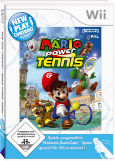 New Play Control! Mario Power Tennis, Covermotiv
