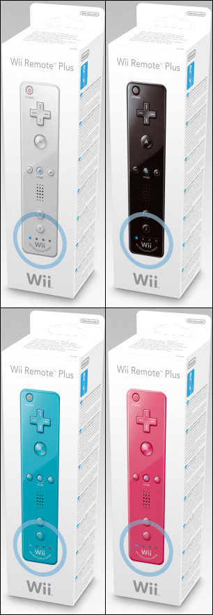 Nintendo Wii Remote Plus, Covermotiv/Artwork
