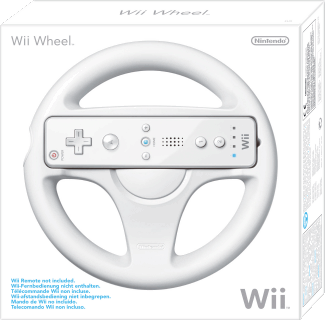 Nintendo Wii Wheel, Covermotiv