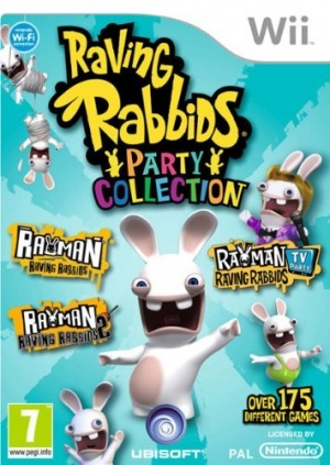 Raving Rabbids: Party Collection, Covermotiv