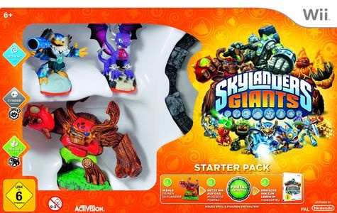 Skylanders Giants, Covermotiv/Artwork