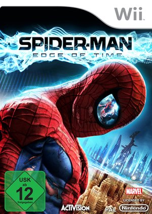 Spider-Man: Edge of Time, Covermotiv/Artwork