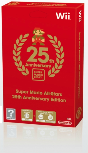 Super Mario All-Stars - 25 Jahre: Jubiläumsedition, Covermotiv/Artwork