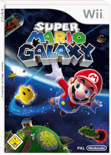 Super Mario Galaxy, Covermotiv/Artwork