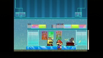 Super Paper Mario, Screenshot #2