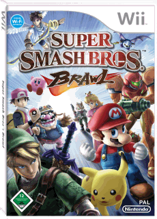 Super Smash Bros. Brawl, Covermotiv