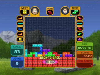 Tetris Party, Screenshot #2