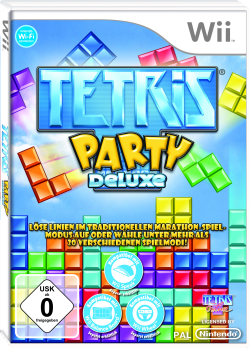 Tetris Party Deluxe, Covermotiv
