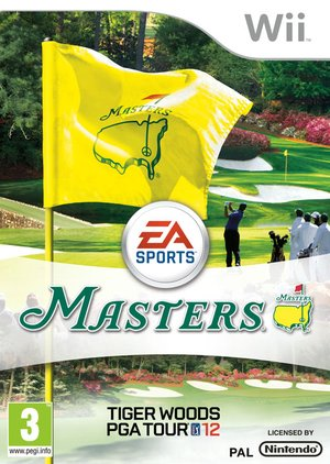 Tiger Woods PGA Tour 12: The Masters, Covermotiv