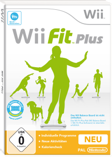 Wii Fit Plus, Covermotiv