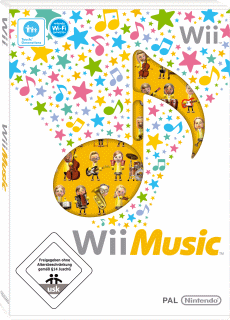 Wii Music, Covermotiv