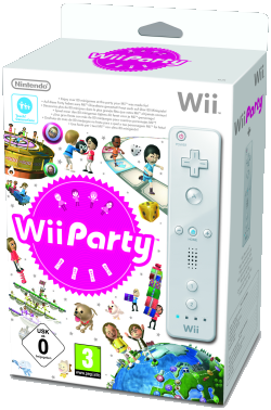 Wii Party, Covermotiv