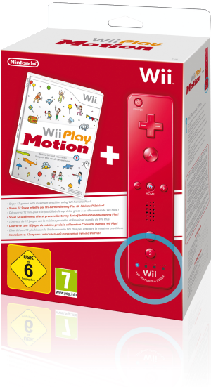 Wii Play: Motion, Covermotiv