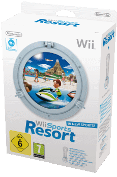 Wii Sports Resort, Covermotiv