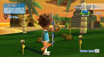 Wii Sports Resort, Screenshot #1