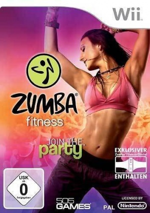 Zumba Fitness, Covermotiv/Artwork