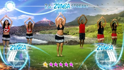 Zumba Fitness World Party, Screenshot #1