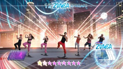 Zumba Fitness World Party, Screenshot #2
