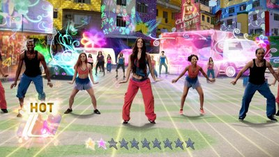 Zumba Fitness World Party, Screenshot #4