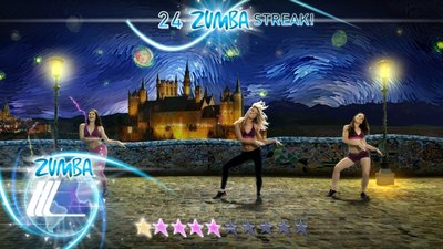 Zumba Fitness World Party, Screenshot #5
