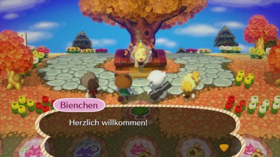 Animal Crossing: amiibo Festival, Screenshot #1