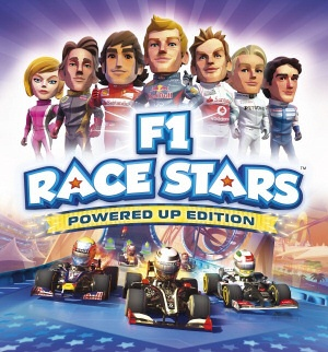 F1 Race Stars Powered Up Edition, Covermotiv/Artwork