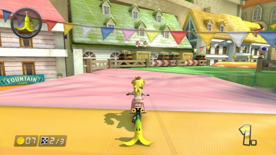 Mario Kart 8, Screenshot #1