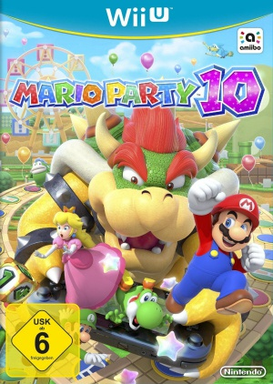 Mario Party 10, Covermotiv