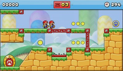 Mario vs. Donkey Kong: Tipping Stars, Screenshot #1