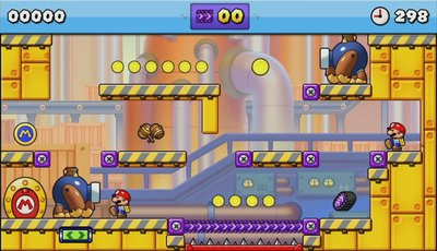Mario vs. Donkey Kong: Tipping Stars, Screenshot #2