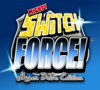 Mighty Switch Force! Hyper Drive Edition, Covermotiv/Artwork