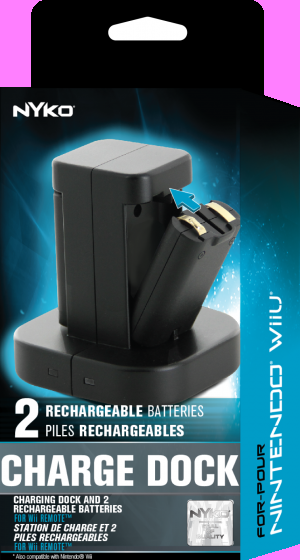 Nyko Charge Dock for Wii & Wii U, Covermotiv