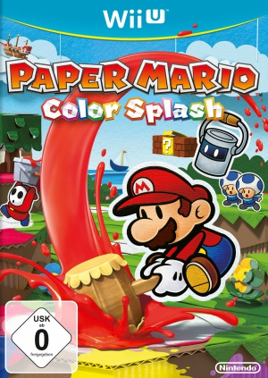 Paper Mario Color Splash, Covermotiv