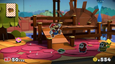 Paper Mario Color Splash, Screenshot #2