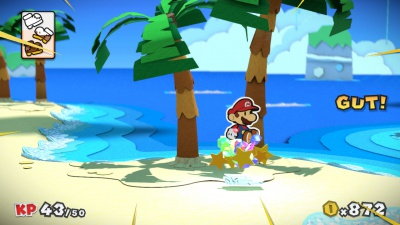 Paper Mario Color Splash, Screenshot #5